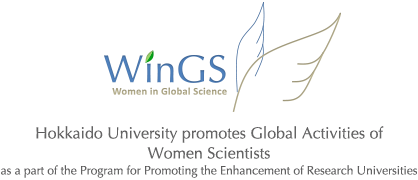 Hokkaido University promotes Global Activities of Women Scientists